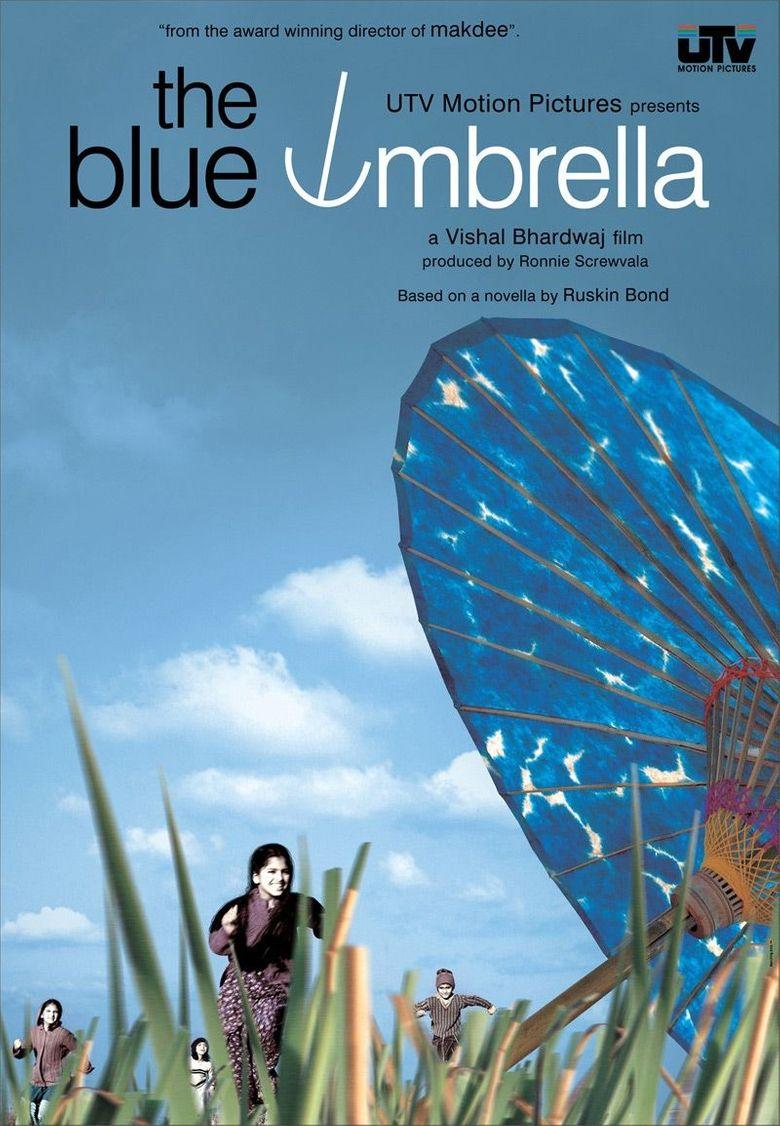 The Blue Umbrella Poster