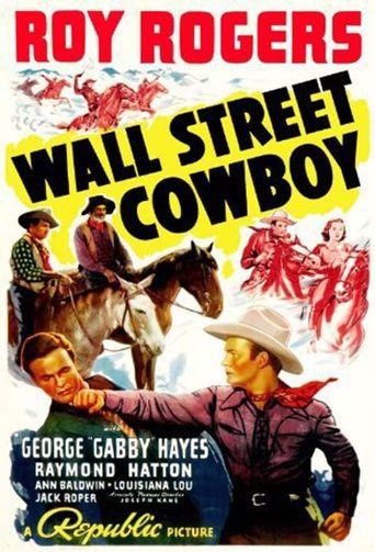 Wall Street Cowboy Poster