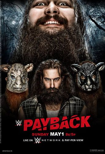 WWE Payback 2016 Poster