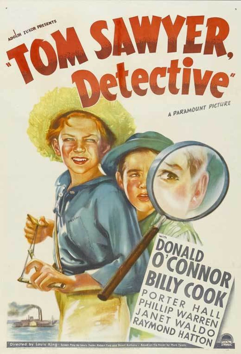 Tom Sawyer, Detective Poster