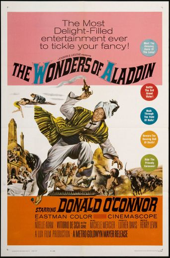 The Wonders of Aladdin Poster
