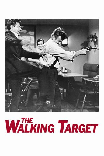 The Walking Target Poster