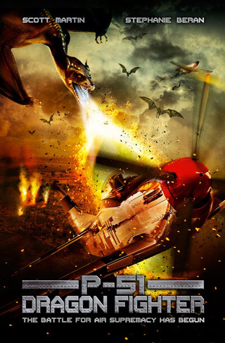 P-51 Dragon Fighter Poster