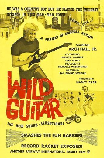 Wild Guitar Poster