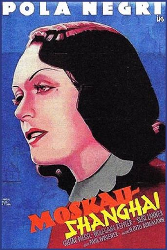 Moskau – Shanghai Poster