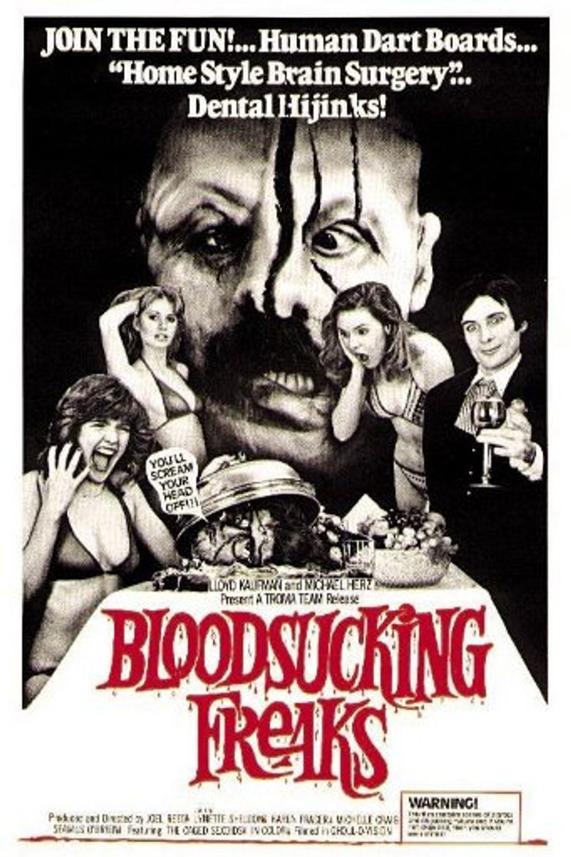 Bloodsucking Freaks Poster