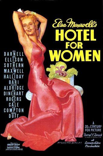 Hotel for Women Poster