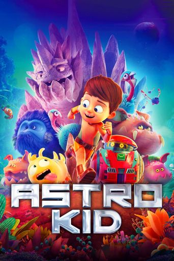 Astro Kid Poster