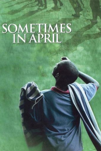 Sometimes in April Poster