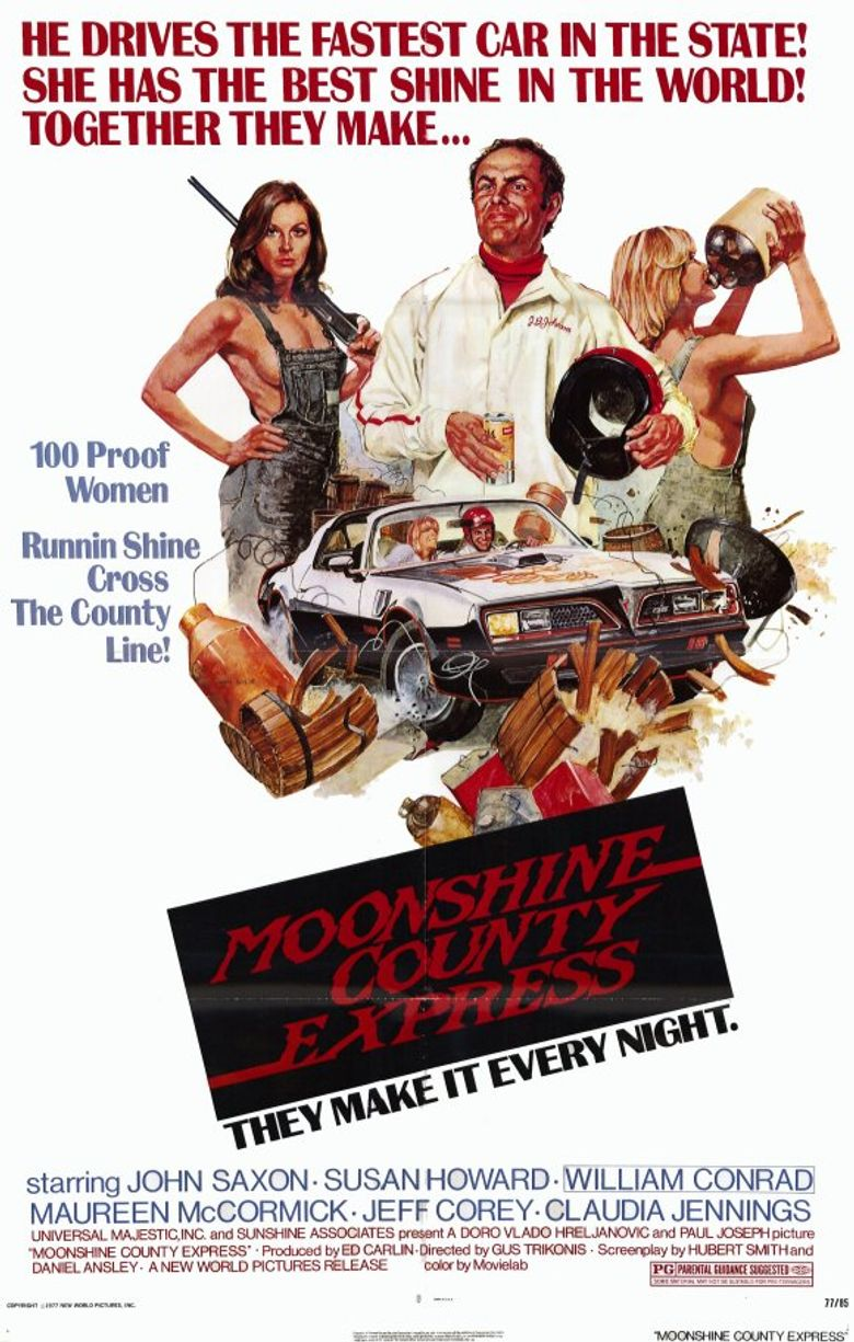 Moonshine County Express Poster