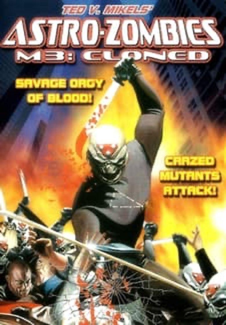 Astro-Zombies M3: Cloned Poster