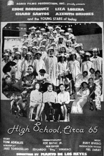 High School Circa '65 Poster