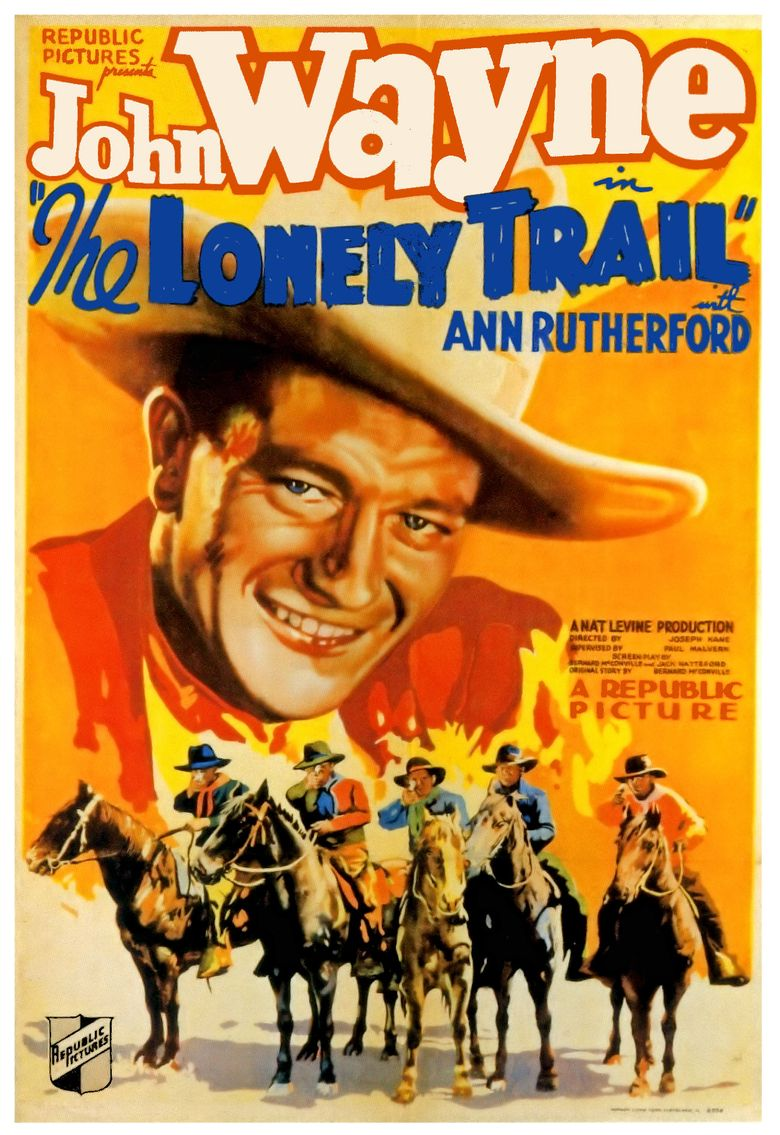 The Lonely Trail Poster