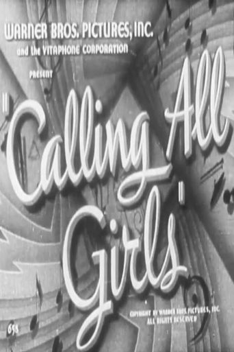 Calling All Girls Poster