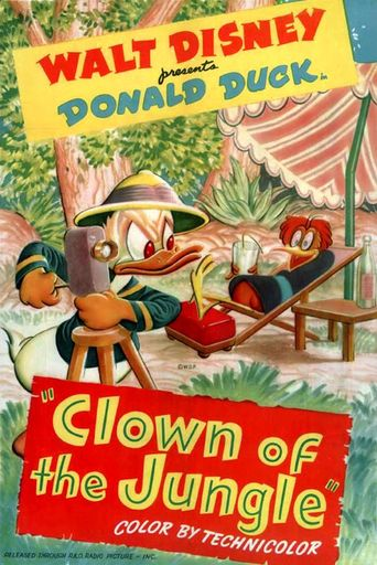 Clown of the Jungle Poster