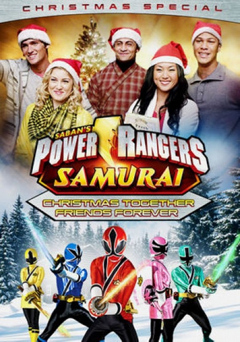 Power Rangers Samurai: Christmas Together, Friends Forever (Christmas Special) Poster