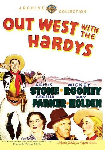Out West with the Hardys Poster