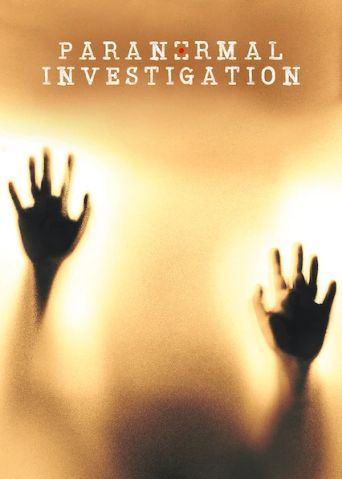 Paranormal Investigation Poster