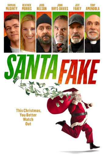 Santa Fake Poster