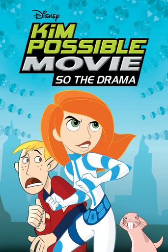 Kim Possible Movie: So the Drama Poster