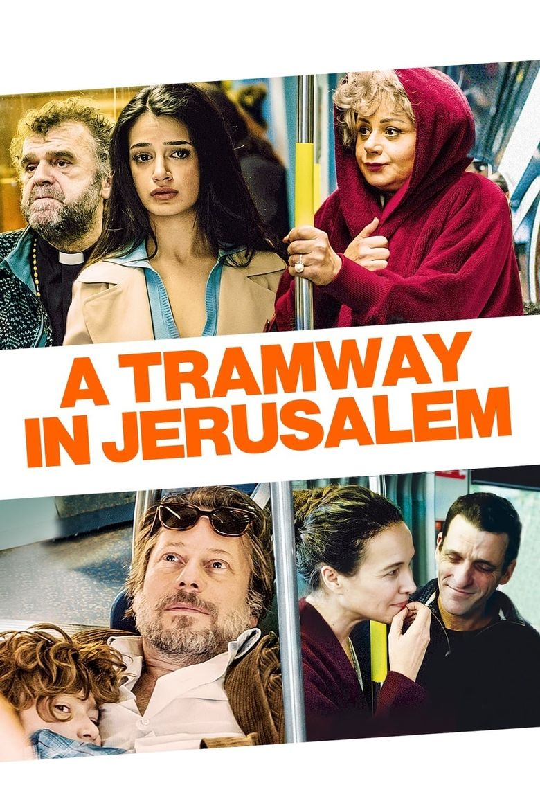 A Tramway in Jerusalem Poster