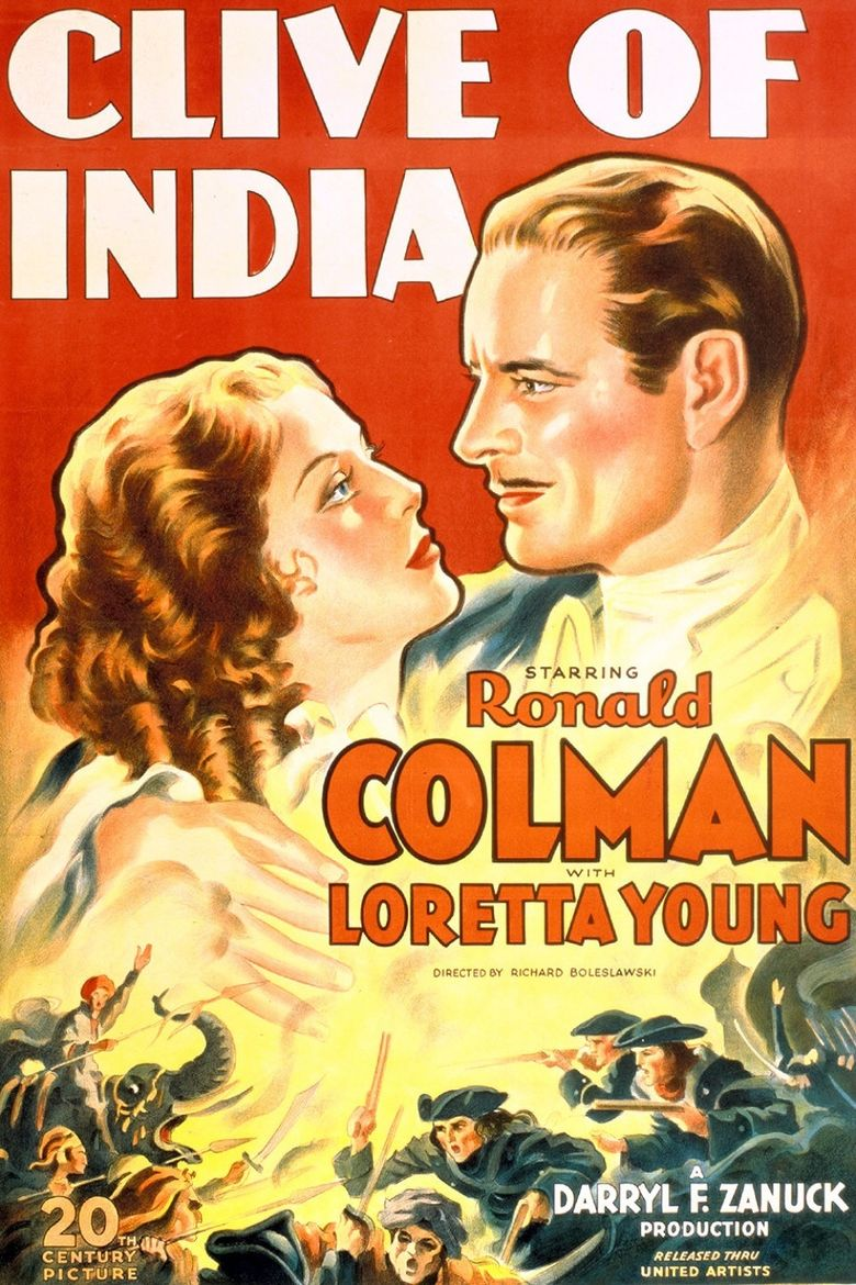Clive of India Poster
