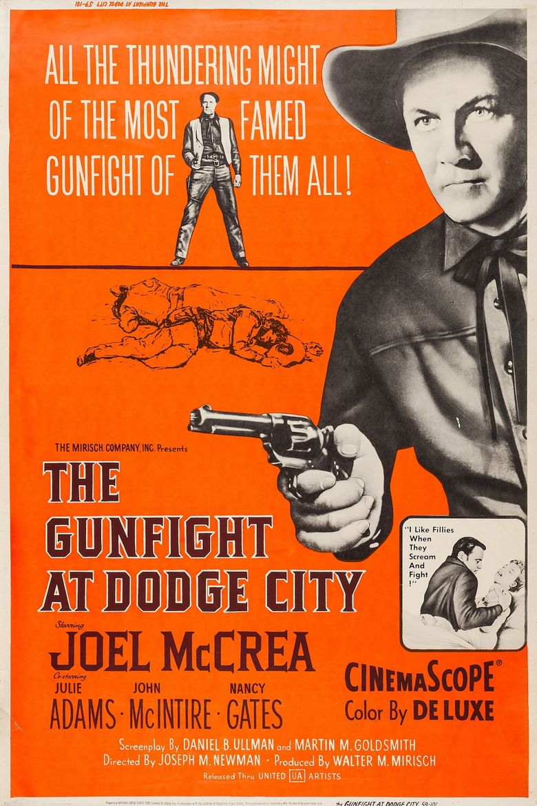 The Gunfight at Dodge City Poster