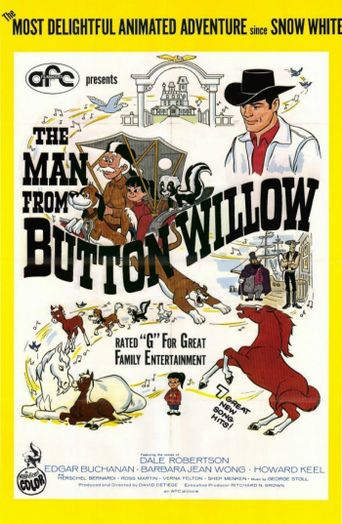 The Man from Button Willow Poster