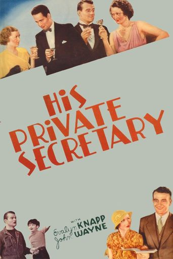His Private Secretary Poster