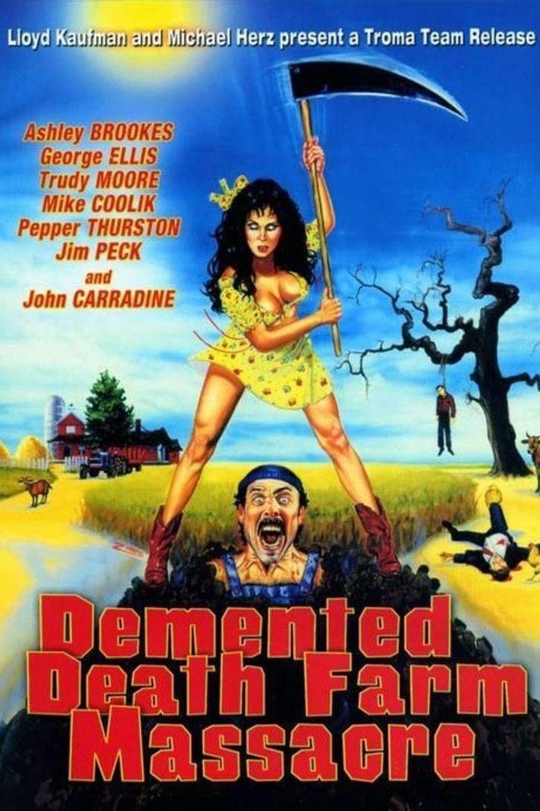 Demented Death Farm Massacre Poster