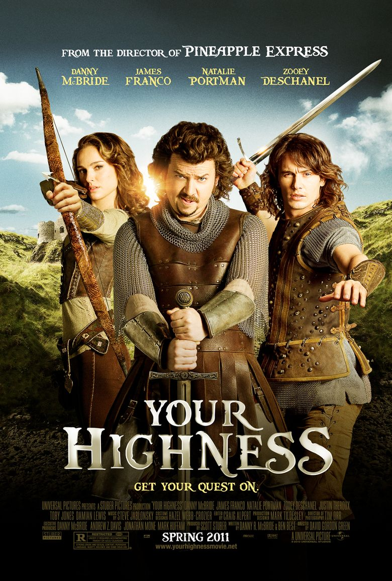 Your Highness 2011 Where To Watch It Streaming Online Reelgood