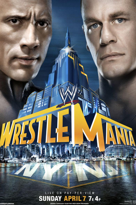 WWE WrestleMania 29 Poster