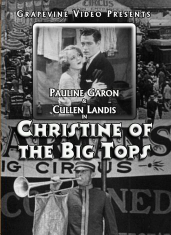 Christine of the Big Tops Poster