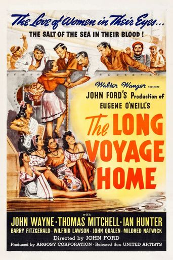 The Long Voyage Home Poster