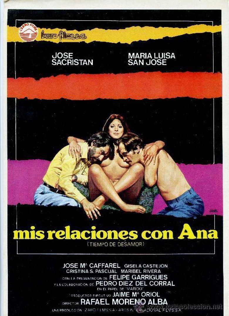 Mis relaciones con Ana Poster