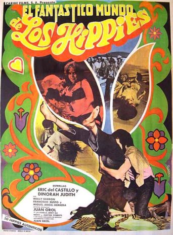 El fantástico mundo de los hippies Poster