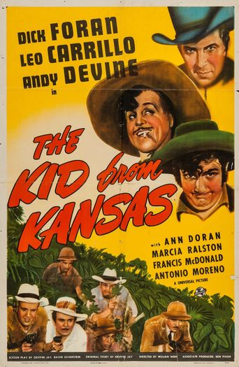 The Kid from Kansas Poster