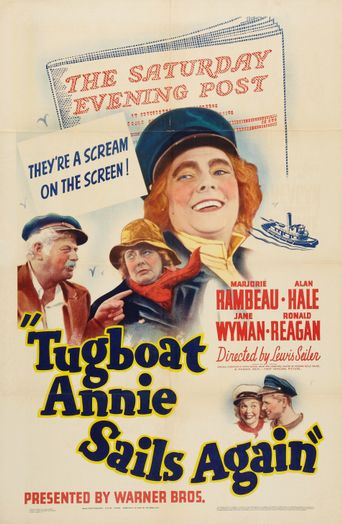 Tugboat Annie Sails Again Poster