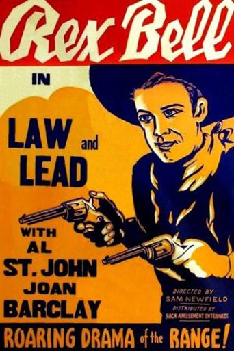 Law and Lead Poster