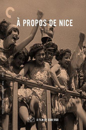À propos de Nice Poster