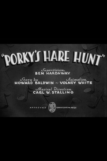 Porky's Hare Hunt Poster