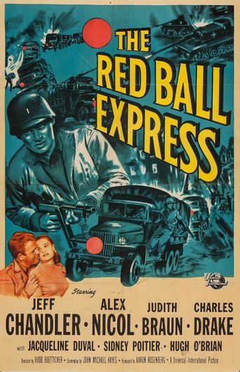 The Red Ball Express Poster