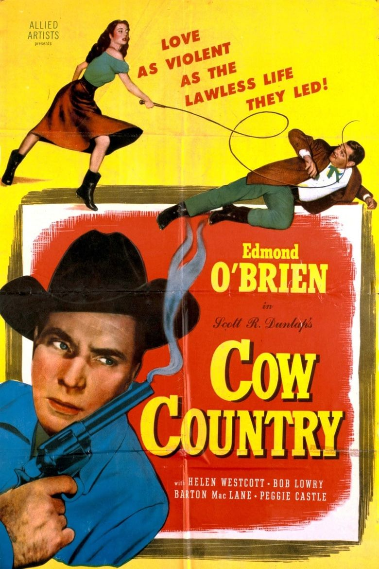 Cow Country Poster