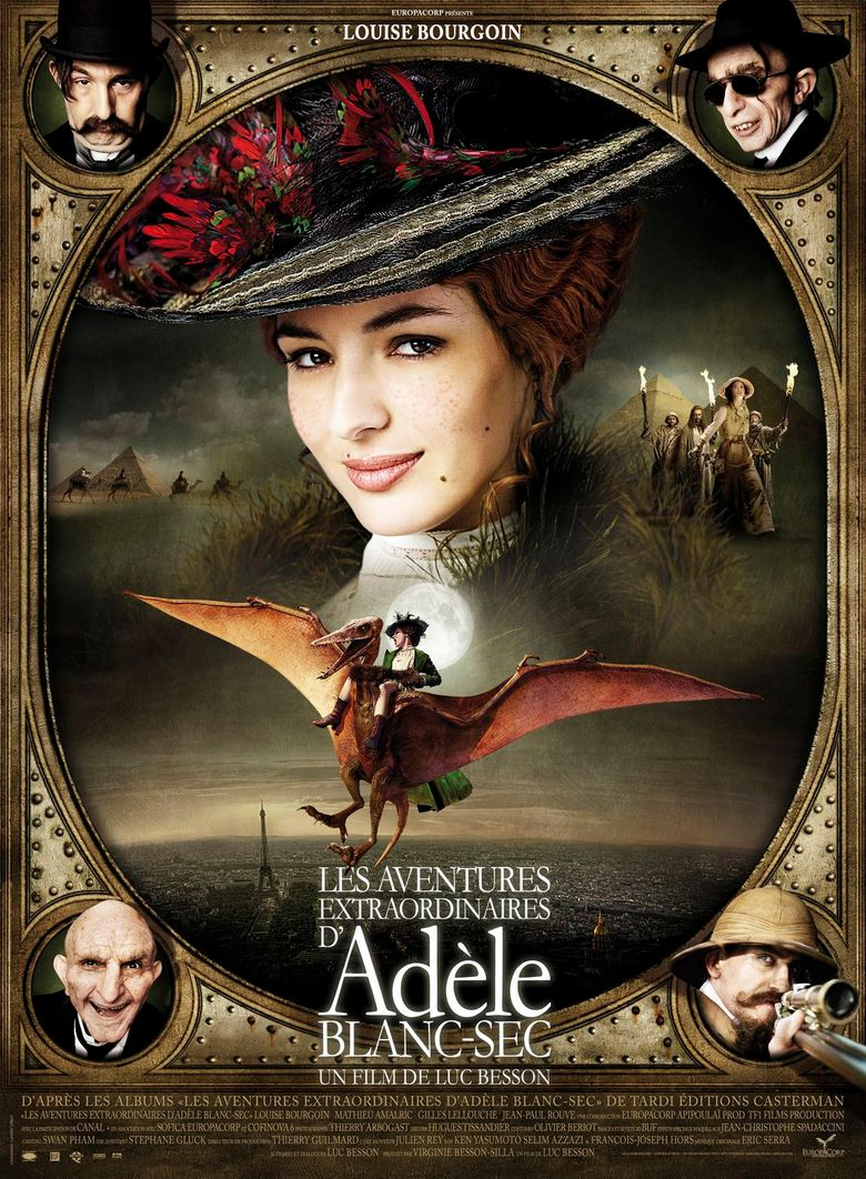 Watch The Extraordinary Adventures of Adèle Blanc-Sec