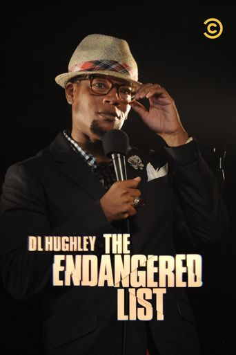 D.L Hughley: The Endangered List Poster