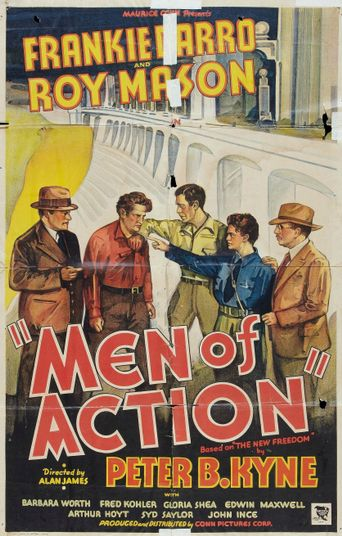 Men of Action Poster