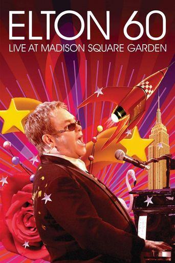 Elton 60 - Live At Madison Square Garden Poster