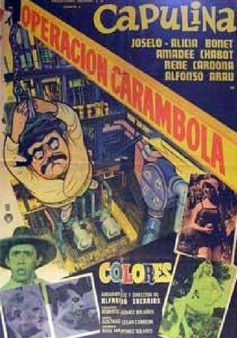 Operación carambola Poster