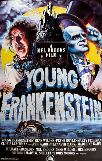 Making Frankensense of 'Young Frankenstein' Poster