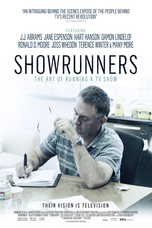 Showrunners: The Art of Running a TV Show Poster